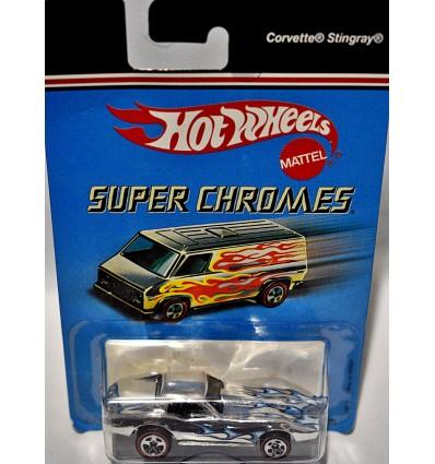 Hot Wheels Super Chromes - Chevrolet Corvette C3 Coupe
