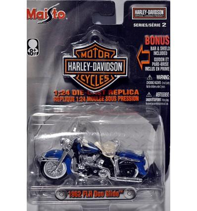 Maisto Harley Davidson (1:24 Scale) 1958 FLH Duo Glide