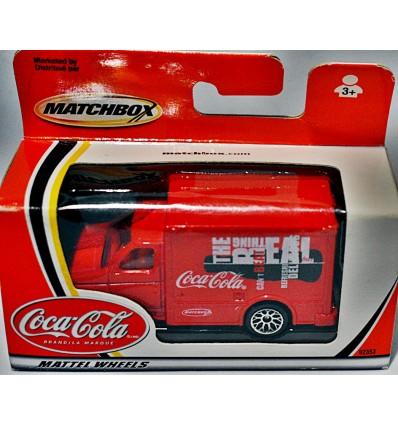 Matchbox - Coca- Cola Ford Box Van