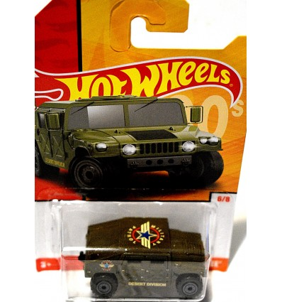 Hot Wheels Cars of the Decades - Military Patrol HumVee