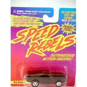 Johnny Lightning Speed Rebels 1970 Ford Mustang Boss 302 - Big Boss