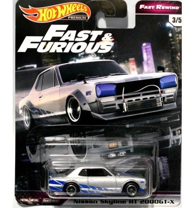 Hot Wheels Fast & Furious - Nissan Skyline HT 2000GT-X