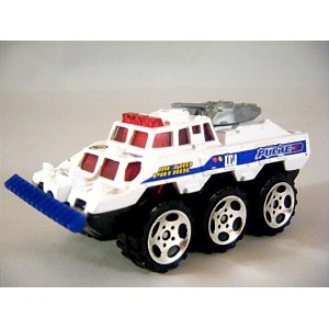 Matchbox Police EMS - Riot Squad Battering Ram Vehicle