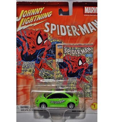 Johnny Lightning Marvel Spiderman Volkswagen Beetle