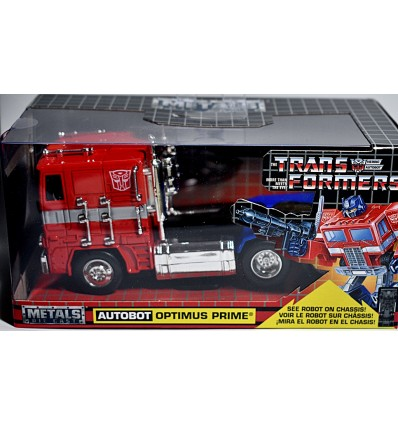 Jada Hollywood Rides - Transformers - Optimus Prime Peterbuilt Cab