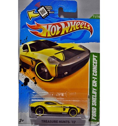 Hot Wheels Treasure Hunt Series - Ford Shelby GR-1 Concept