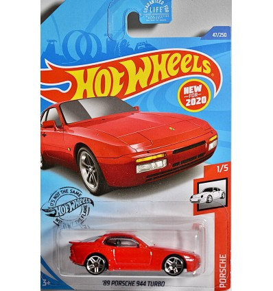 Hot Wheels - 1989 Porsche 944 Turbo
