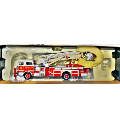 Corgi Heroes Under Fire - Bethpage NY Mack CF Fire Engine