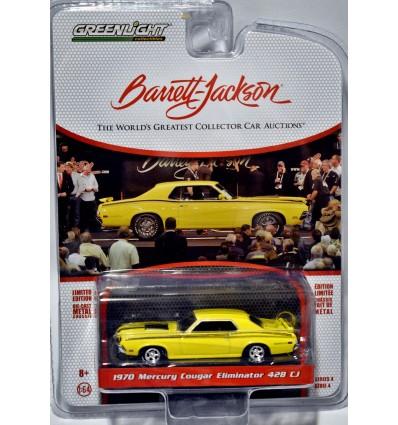 Greenlight Barrett Jackson - 1970 Mercury Cougar Eliminator 428 CJ