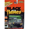 Johnny Lightning Black with Flames - 1951 Hudson Hornet
