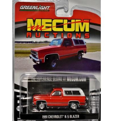 Greenlight Barrett Jackson - 1991 Chevrolet K-5 Blazer