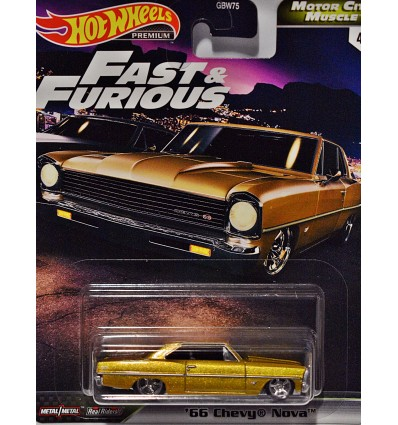 Hot Wheels Premium - Boulevard - 1966 Chevy Nova SS