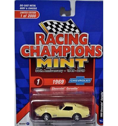 Racing Champions 30th Anniversary Mint Series - 1969 Chevrolet Corvette