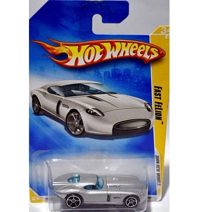 Hot Wheels 2009 New Models - Fast Felon Jaguar