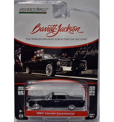Greenlight Barrett-Jackson Auctions- 1965 Lincoln Continental Convertible