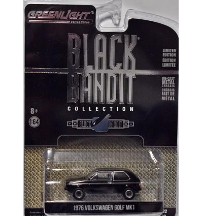 Greenlight - Black Bandit - 1976 Volkswagen Golf MK1