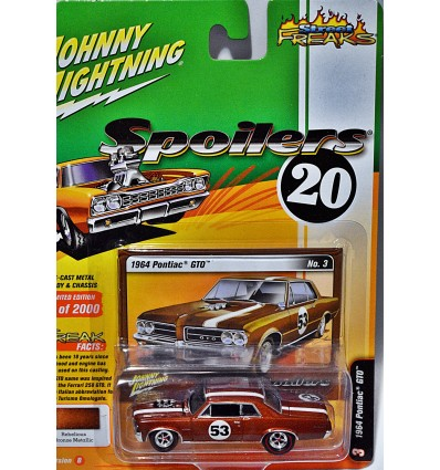 Johnny Lightning Spoilers 1964 Pontiac GTO