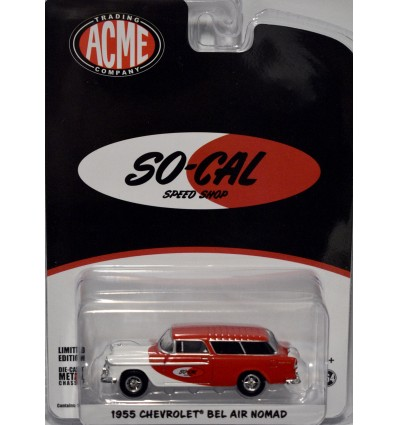Greenlight Promo - 1955 SO-CAL Speed Shop 55 Chevy Nomad