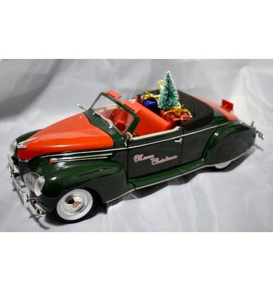 Signature Models - 1939 Lincoln Zephyr Convertible Christmas Car