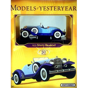 Matchbox Models of Yesteryear - 1931 Stutz Bearcat