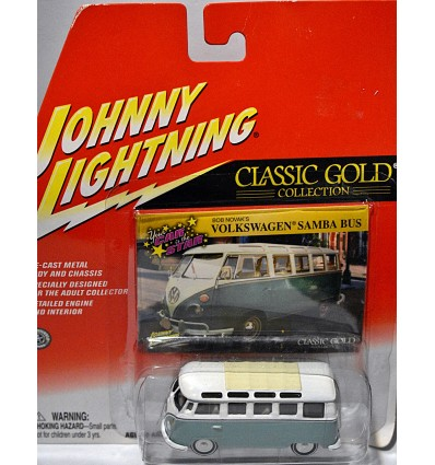 Johnny Lightning Classic Gold - 23 Window Volkswagen Samba Bus