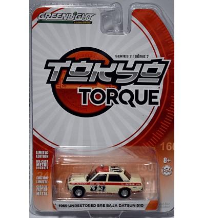 Greenlight - Tokyo Torque - 1969 Unrestored BRE Baja Datsun 510