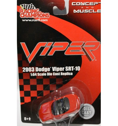 Racing Champions Concepts and Muscle - Dodge Viper SRT-10