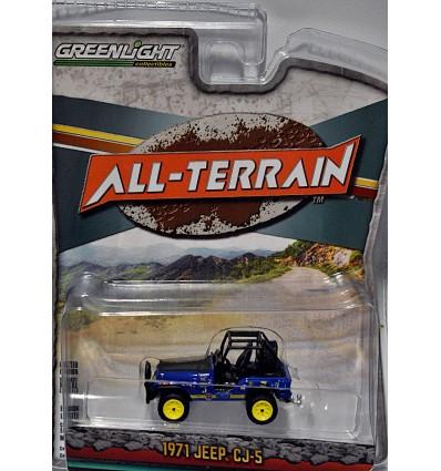 Greenlight - All Terrain - 1971 Jeep CJ-5