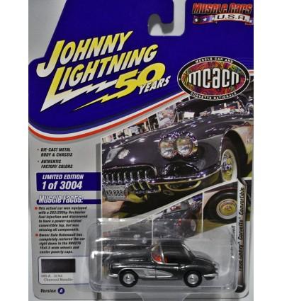 Johnny Lightning Muscle Cars USA - MCACN - 1958 Chevrolet Corvette