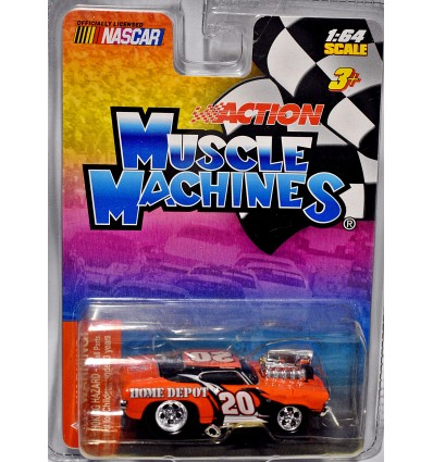 Action Muscle Machines - NASCAR Series - Tony Stewart Home Depot Chevrolet Chevelle