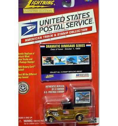 Johnny Lightning - White Lightning - 1929 Ford Model A US Post Office Pickup Truck