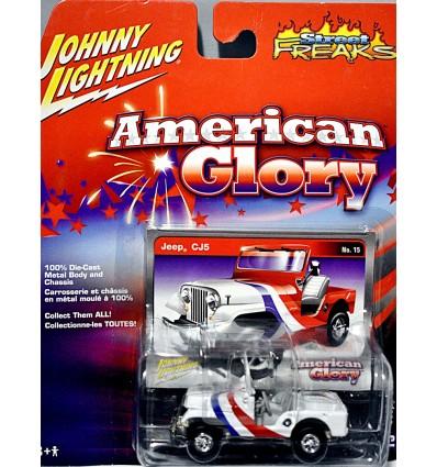 Johnny Lightning - White Lightning - Jeep CJ-5