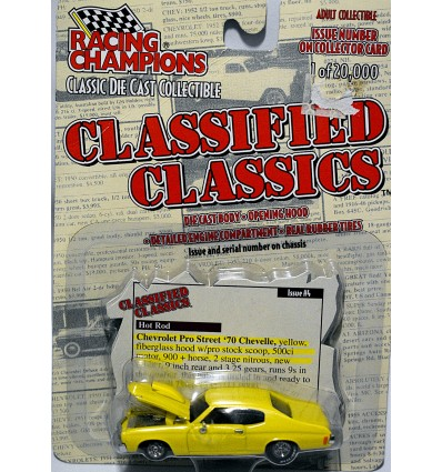 Racing Champions Classified Classics Series - 1970 Chevrolet Chevelle Pro Street