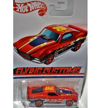 Hot Wheels Flying Customs - Boulevard Bruiser Custom Ford Mustang GT