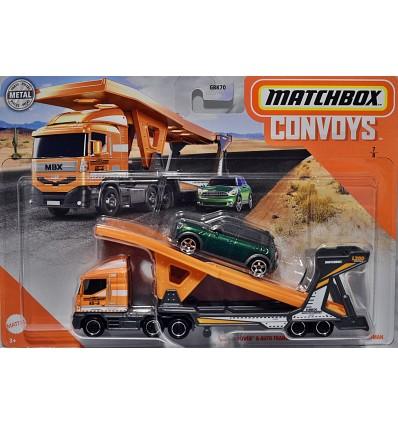 Matchbox Convoy Mini Set - Mini Countryman and Matchbox Auto Transporter