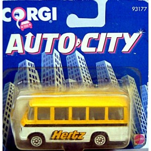 Corgi Juniors (93177) - Mercedes-Benz Hertz Airport Coach