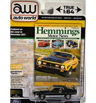 Auto World - 1971 Ford Mustang Boss 351