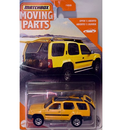 Matchbox Nissan Xterra with opening Tailgate