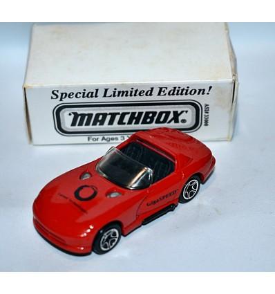 Matchbox Rare Lucent Technologies Gigaspeed Dodge Viper R/T10