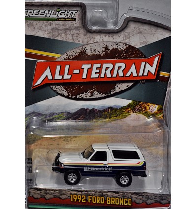 Greenlight - All Terrain - 1992 BF Goodrich Ford Bronco