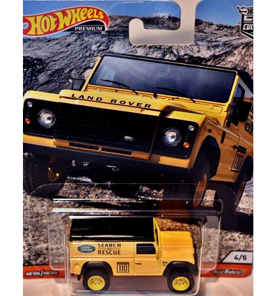 Hot Wheels - Premium - Land Rover Defender 110 Search & Rescue Truck