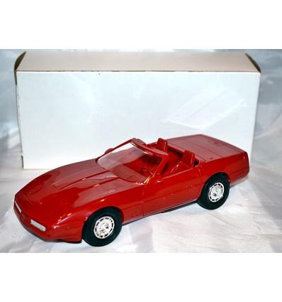AMT Dealer Promo - 1987 Chevrolet Corvette Convertible (Red)