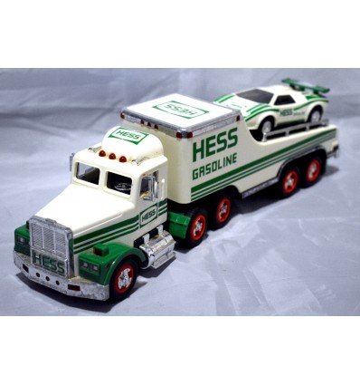 1991 Hess Holiday Race Transporter with a Lamborghini Countach