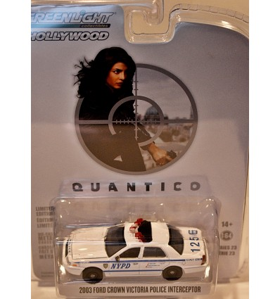Greenlight Hollywood - Quantico - 2003 NYPD Ford Crown Vic Police Interceptor
