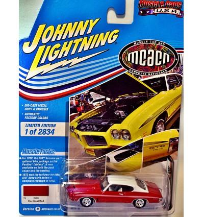 Johnny Lightning Muscle Cars USA - 1967 Pontiac GTO