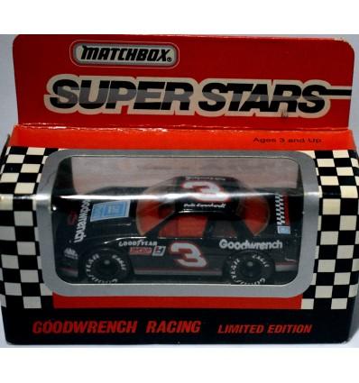 Matchbox NASCAR Super Stars Dale Earnhardt Sr 1991 Chevrolet Lumina Stock Car