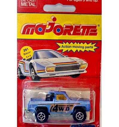 Majorette Chevy Blazer 4x4 Race Truck