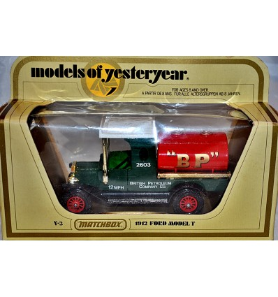 Matchbox Models of Yesteryear 1912 Ford Model T BP Petroleum Company