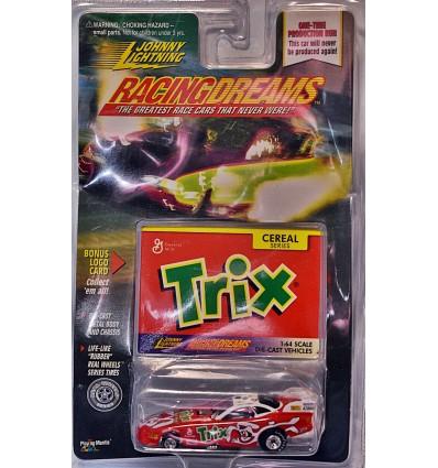 Johnny Lightning - Trix Sponsored 1995 Pontiac Firebird NHRA Funny Car
