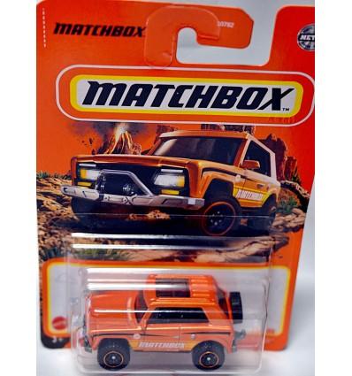 Matchbox - Off Road - Field Car